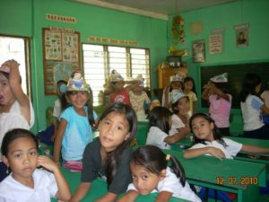 Grade IV Schoolroom where the children attend.