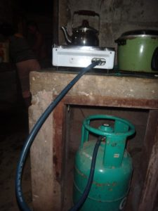1 Burner stove and Gasul tank