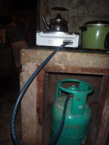 1 Burner stove and Gasul tank