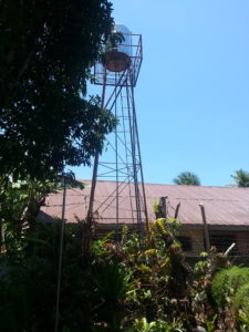 Private water tower