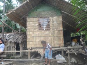 Built using locally available materials.